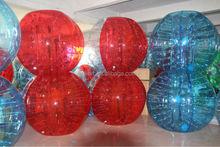 half color human bubble football TPU 1.5 m, body zorb, human bubble football
