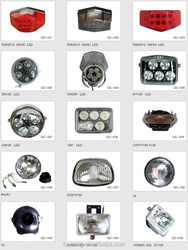 Hot Sale Good quality motorcycle LED headlight taillight CG125/CGL125/GN125/BAJAJ/......