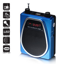 wireless voice amplifier speaker with usb tf card slot mp3 fm for teacher and coaches new technology products for 2015