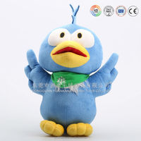 Battery operated plush singing and talking birds