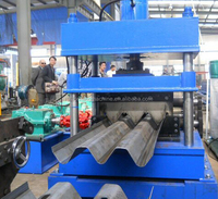 2 or 3 waves highway guard rail cold roll forming machine