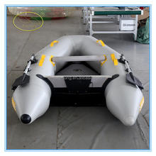 High Quality Cheap zodiac inflatable rescue boat /Inflatable Boat Set with aluminum Oars and Air Pump