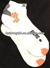 X-SOCKS BIKE RACING Short Sock US White NEW