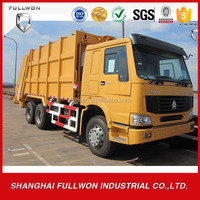 China HOWO 21m3 Compactor Garbage Truck For Sale