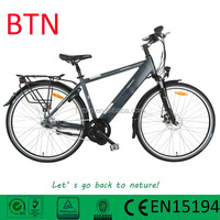 TOP E-cycle hidden battery ebike electric bicycle