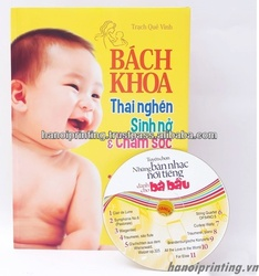 Pregnancy handbook printing with CD and VCD
