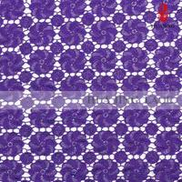 Newest Fabric Manufacturer Premium Quality African Voile And Lace Fabric