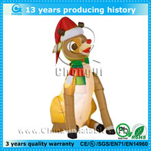 cheap inflatable christmas decoration dog for sale