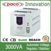 Relay type Automatic static voltage stabilizer 3kva/3000watt step down voltage regulator with circuit diagram