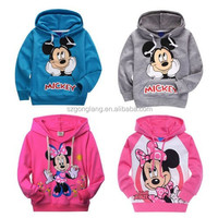 Cute Kids Boys Girls Hoodies Tops Coat Clothing Sportswear 2-7Y