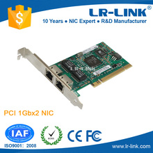 PCI Dual Port 2*RJ45 10/100/1000Mbps Network Adapter
