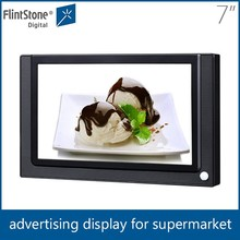 Flintstone 7'' indoor advertising display, led commercial advertising display screen
