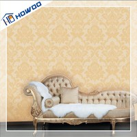 Howoo interior rooms pvc multi color different types of wallpaper
