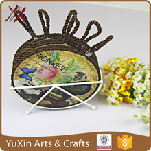 ceramic trivet hot pad coaster with rope new product hot sale
