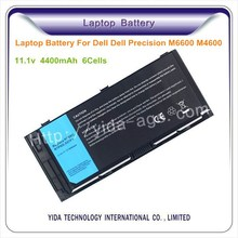 Brand New 6cells li-ion laptop battery pack for Dell Precision M4700 M4600 M6700 M6600