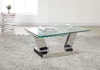 new style of stainless steel computer table