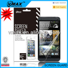 Mobile phone accessories china for HTC ONE M7 screen protector oem/odm (High Clear)
