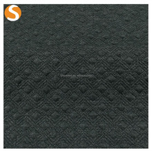 Soft Touch Polyester Rayon Spandex Jacquard Knit Fabric