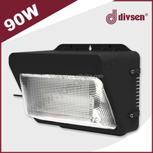 90w wall pack led outdoor light Perforated hidden cutout for PIR sensor optional accessory led outdoor light