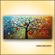 Modern abstract oil painting for living room