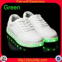 Sao Tome and Principe tennis led flashing shoe supplier tennis glow flashing shoe wholesaler