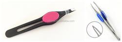 Pink tweezers and high quality tweezers new design