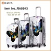 Lightweight Colorful Printed 4 Wheels Luggage