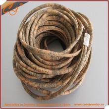Portuguese Flat 5mm Flat Stitched Cork Leather