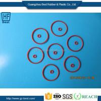 SI,FKM,NBR,HNBR,EPDM Customed Sizes Neoprene Rubber Gasket/Washer
