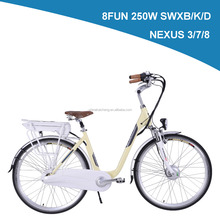 Lohas/OEM 28'' new designing Fashion city chinese electric bikes for young people