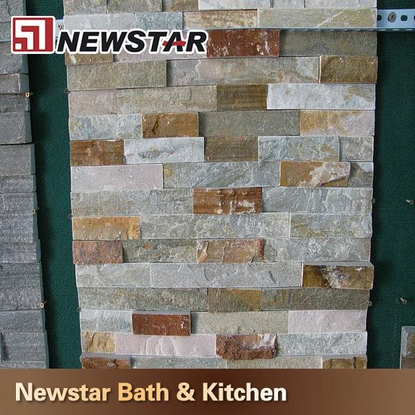Exterieur leisteen muur steen tegel ontwerp leisteen product id 1853018991 - Leisteen muur ...