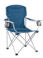steel tube with powder coating fishing chair with arm rest