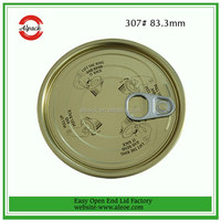 307# Easy open closures for food cans