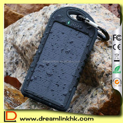 Solar panel 12000mAh Portable Solar Charger for smart phone and laptop