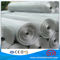 10 gauge welded wire mesh / 304 ss welded wire cloth mesh