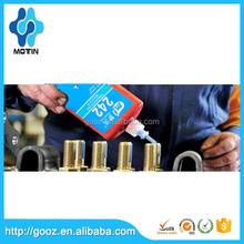 Blue liquid 242 thread sealant round 50 ml bottle