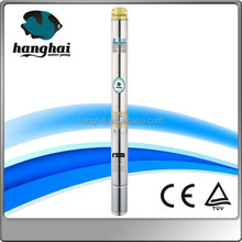 stainless steel high flow centrifugal submersible pump