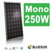250 watt 48v solar panel cheap price with ISO CE TUV CE certificates