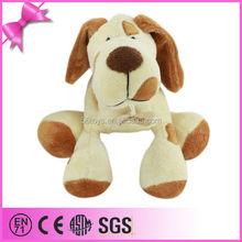 Soft loyal animal stuffed toy little dog promotional