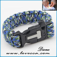 cheap survival paracord bracelet paracord glowing in the dark-climbing sports paracord bracelet