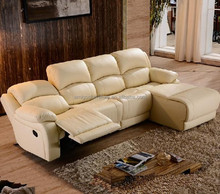 genuine leather reclining sofa sets