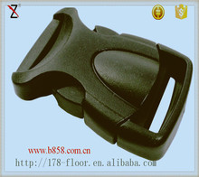 Mommy strap's plastic center release buckles