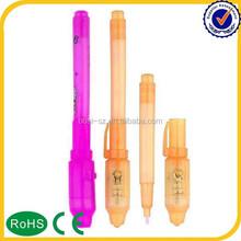 2015 New Promotion skin invisible uv marker pen