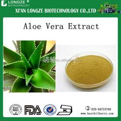 100% organic raw material bulk powder Aloe Vera Extract/Aloin 20% with fair price