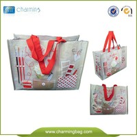 Wenzhou China Factory supply eco friendly shopping Bopp recylable laminated Pp woven bag