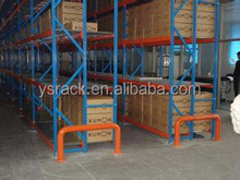 Factory Price Storage Push back heavy duty pallet rack,Customized