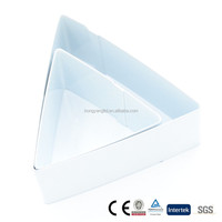 100% food grade 2pcs triangle cookie cutters