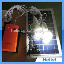 Helist light and handy mini solar home system for home lighting