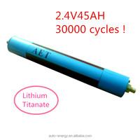 12V 45Ah battery LTO/ lithium titanate battery for EV/E-bike/ups/HEV/solar system