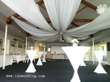 IDA wedding decorative ceiling draping kit, party decorative ceiling draping kit, event ceiling draping kit (IDACD066)